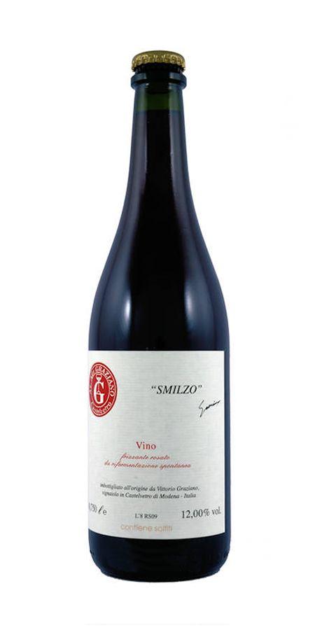 Smilzo Vino Rosato Frizzante - Graziano