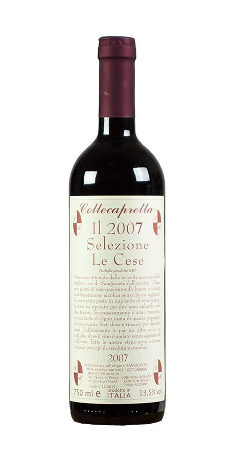 """Sangiovese IGT Umbria - Selezione """"Le cese"""" - Collecapretta"""